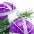 Royalty-Free Stock Photo: Christmas tree balls
