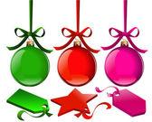 Weihnachtskugel — Stockvektor