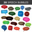 Royalty-Free Stock Vector Image: Speech bubble vectors