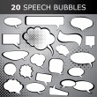 Stock Vector: Speech bubble vectors
