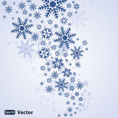 Vector fondo abstracto nieve — Vector de stock