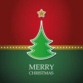 Kartka świąteczna szablon wektor — Wektor stockowy