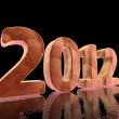 Stock Photo: Year 2012