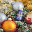 Stock Photo: Christmas Decoration. Swallow dof