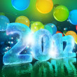 New Year's Eve 2012 (Ice figures) — Stock Photo #7539823