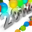 New Year Eve 2012 — Stock Photo