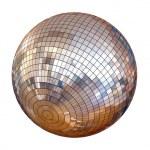 Disco ball isolated — Stock Photo