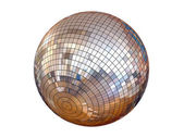 Disco ball isolated — Stock Photo