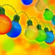 Stock Photo: Holiday lights