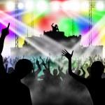 Dancing in night club — Stock Photo #6840532