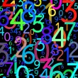Abstract colorful numbers — Stock Photo #6922808