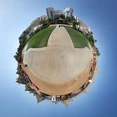 Pequeño planeta del tropical resort — Foto de Stock