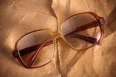 Antique glasses — Stock Photo