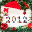 2012 Christmas background — Stock Photo
