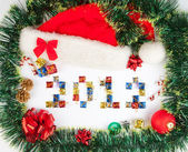 2012 Christmas background — Stock Photo
