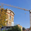 Crane on a construction site — Stock Photo #7493712