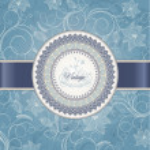 Wedding card template — Stock Vector