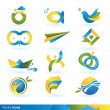 Royalty-Free Stock Vector Image: Icon design elements