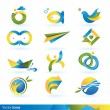 Icon design elements - Stock Vector