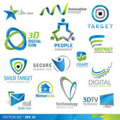 Elementos de design do ícone — Vetorial Stock