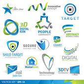 Elementos de diseño del icono — Vector de stock