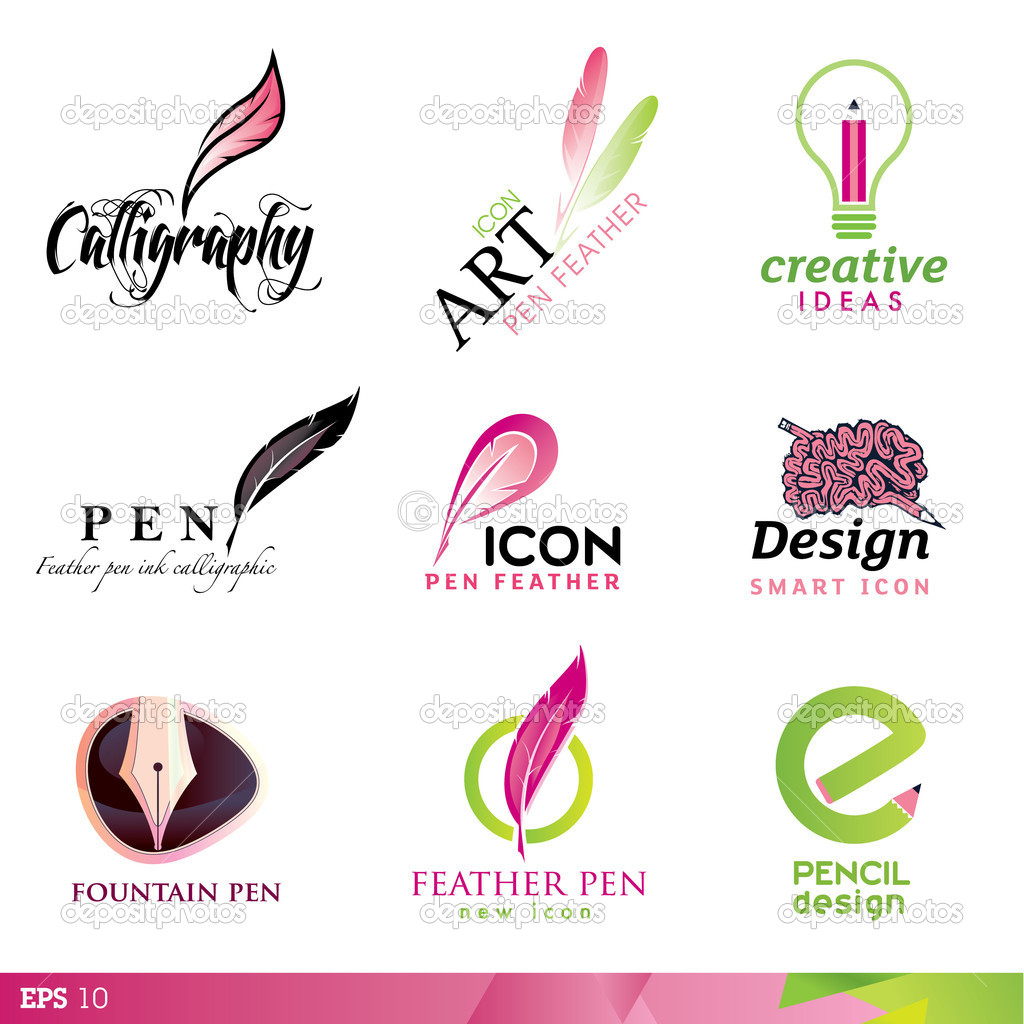Collection of icon design elements  — Stock Vector #6770928