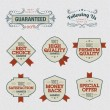 Royalty-Free Stock Vektorgrafik: Set of Premium Quality Labels