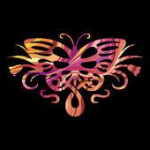 Rainbow butterfly — Stock Vector