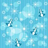 Winter seamless. — Stock Vector