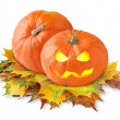 Halloween pumpkins — Stock Photo #6848551