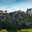 Edinburgh castle panorama — Stock Photo