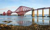 Forth Bridge in Scotland — Stock Photo