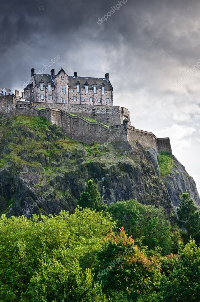 stock edinburgh castle - photo #2