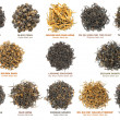 Black tea collection — Stock Photo #7387626