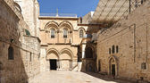 Church of the Holy Sepulchre in Jerusalem — Stock Photo