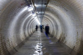 Greenwich foot tunnel, london. — Stock Photo