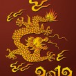 Dragon, symbol of the year - Stock Vector