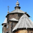 Wood orthodox architecture — Stock Photo