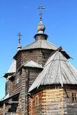 Wood orthodox architecture — Stock fotografie
