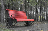 Wet bench — Stock Photo
