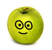 Happy apple — Stock Photo