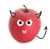 Evil apple — Stock Photo