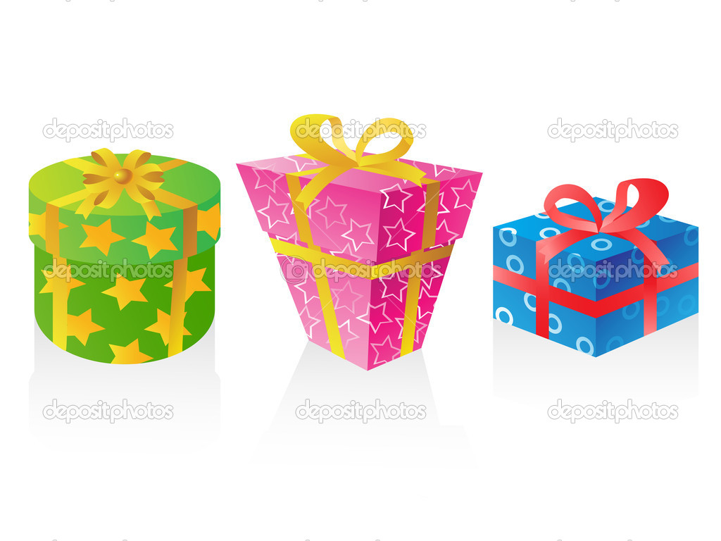 Cute t boxes vector stock illustration