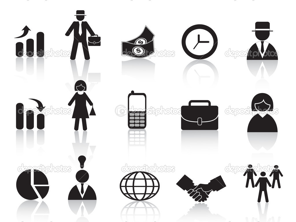 Set of business icon for design — Stock Vector #7131934