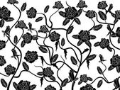 Rose seamless pattern background — 图库矢量图片