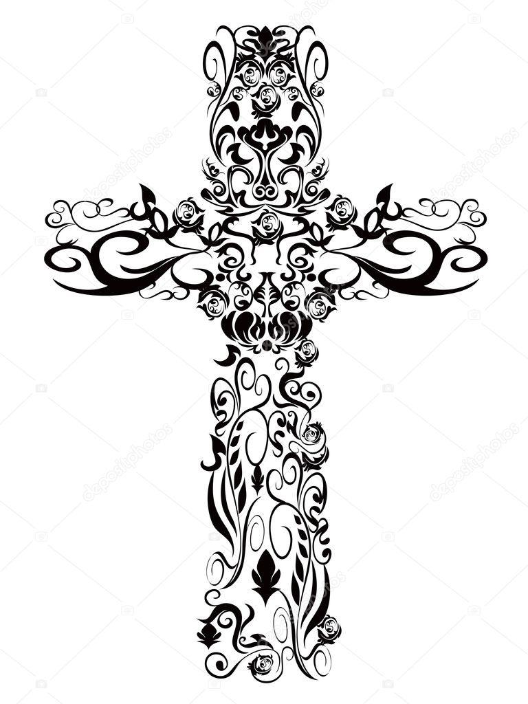 Christian Cross Pattern Decoration pattern Cross for