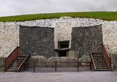 Newgrange passage graf ingang — Stockfoto