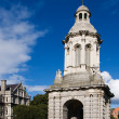 Trnity College campanile - Stock Photo