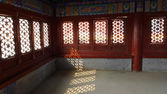 Window pattern of ancient chinese house — Stock Photo