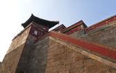 Burg gebäude muster — Stockfoto